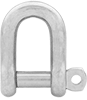 Captive Locking Screw-Pin Chain Shackles—Not for Lifting