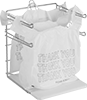 Wire Racks for Plastic Shopping Bags