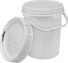 UN-Compliant Shipping Pails with Twist-Lock Lids