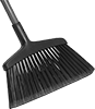 Extra-Wide Angle Brooms for Smooth Surfaces
