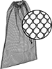 Mesh Storage Bags with Drawstring Closure