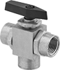 Panel-Mount Threaded Diverting Valves