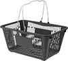 Nestable Plastic Tote Baskets
