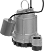 Sump Pumps for Water with Small Solids with Replaceable Float Switch