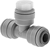Pressure-Relief Valves with Push-to-Connect Fittings for Air