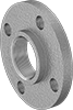 Low-Pressure Aluminum Threaded Pipe Flanges