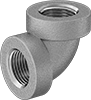 Low-Pressure Aluminum Threaded Pipe Fittings