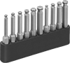 Ball-End Screw-Holding Hex Bit Sets