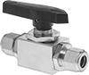 Panel-Mount On/Off Valves with Yor-Lok Fittings