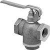 Snap-Shut Threaded Flow-Adjustment Valves