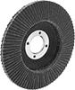 Long-Life Flap Sanding Discs for Aluminum, Soft Metals, and Nonmetals