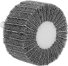 Nylon Mesh Cushioned Flap Sanding Wheels with Shank