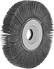 Arbor-Mount Flap Sanding Wheels for Stainless Steel and Hard Metals