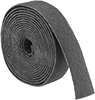 Nylon Mesh Cushioned Sanding Rolls for Aluminum, Soft Metals, and Nonmetals