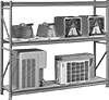 Extra Heavy Duty Wide and Deep Shelving