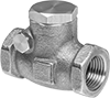 High-Flow Threaded Check Valves