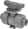 Easy-to-Install Threaded On/Off Valves for Chemicals