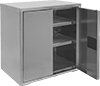 Harsh Environment Bench-Height Shelf Cabinets
