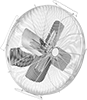 High-Visibility Wall-Mount Fans