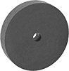 Rubber-Cushioned Abrasive Grinding Discs without Shank for Metals