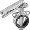 Lightweight Flanged Flow-Adjustment Valves