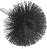 Low-Scratch Brushes with Shank for Closed-End Holes