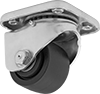 Extra-High-Capacity Low-Profile Casters with Nylon Wheels
