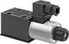 Solenoid-Operated Directional-Control Block-Mount Hydraulic Valves
