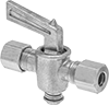 On/Off Valves with Compression Fittings