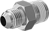 37° Flared Fittings with Thread Sealant for Stainless Steel Tubing