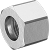Nuts for Brass Compression Tube Fittings for Air and Water