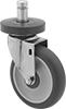 Friction-Grip Stem Casters for InterMetro Shelving