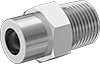 High-Pressure Socket-Connect Fittings for Stainless Steel Tubing