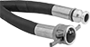 Abrasion-Resistant Low-Pressure Water Hose with Cam-and-Groove Fittings