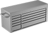 Stainless Steel Tabletop Drawer Cabinets