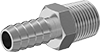 Metal Barbed Hose Fittings for Chemicals and Petroleum