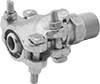 Interlocking-Clamp Hose Fittings for Steam