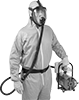 Supplied-Air Full-Face Respirators for Air Pumps