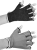 Vibration-Damping Open-Finger Work Gloves