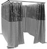 Freestanding Welding Curtain Partitions