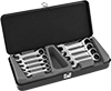 Reversible Stubby Ratcheting Combination Wrench Sets