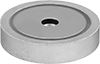 Encased Neodymium Magnets with Threaded Hole