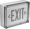 Washdown Backlit Exit Signs