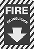 Glow-in-the-Dark Fire Equipment Signs
