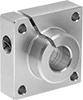 Flange-Mounted Shaft Supports