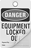 Lockout/Tagout Tags with Laminating Flap