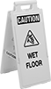 Fold-Flat Slip and Fall Prevention Signs