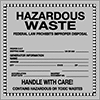 Hazardous Material Storage Labels