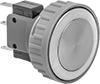 Flush-Mount 22 mm Panel-Mount Push-Button Switches