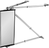 Safety Mirrors with Telescoping Arms